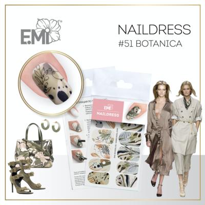 Naildress Slider Design #51 Botanica