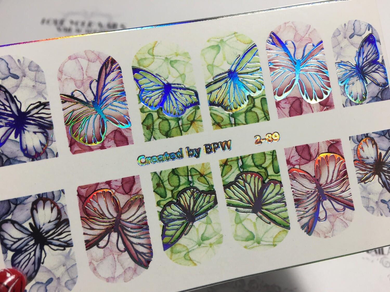 Vlinders 2-89