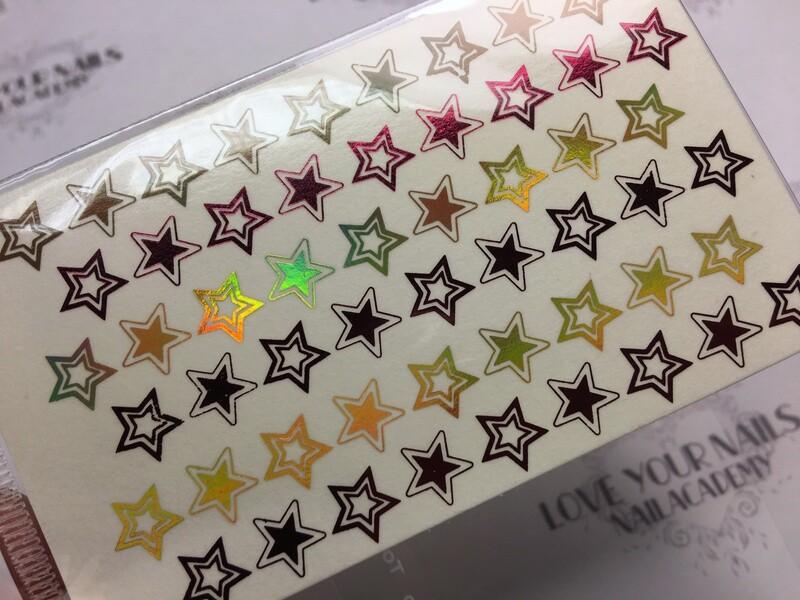Double foil stars