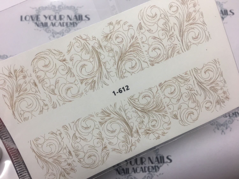 Ornament design 1-612 beige