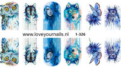 Aquarel design 1-326