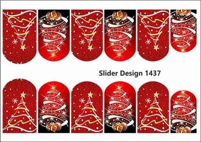 Rood kerstboom 1437