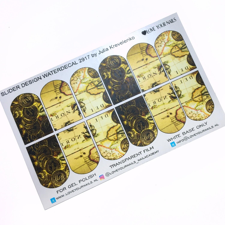 Schatkaart treasure map 2917