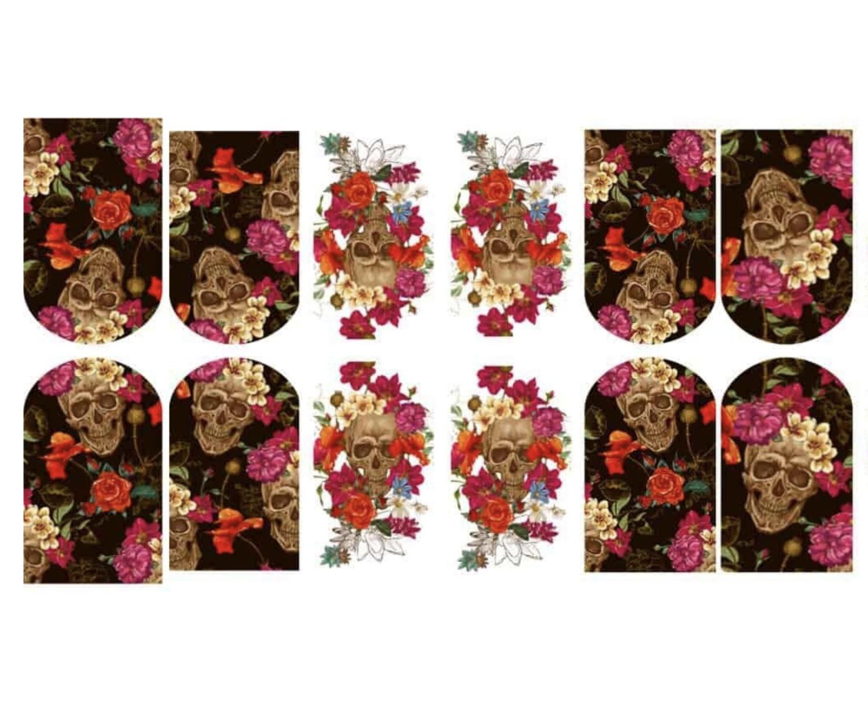 Scul met bloemen 3121