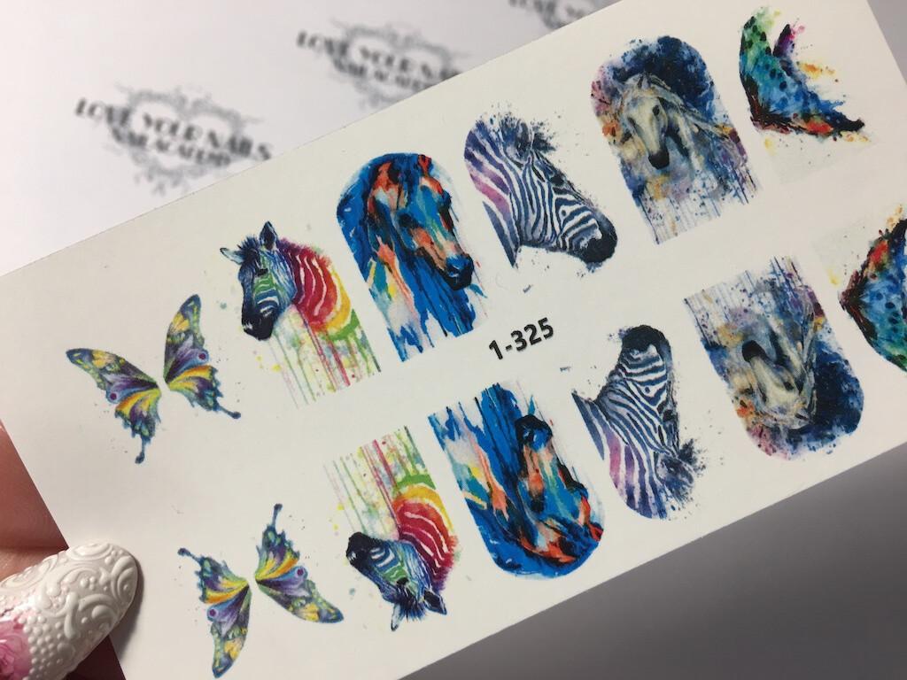 Aquarel design animals 1-325w