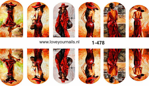 Lady in red 1-478w