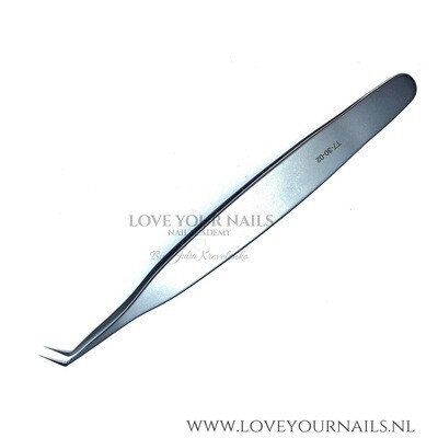 Professional eyelash tweezer expert 40 type 2 (L-shaped 70')