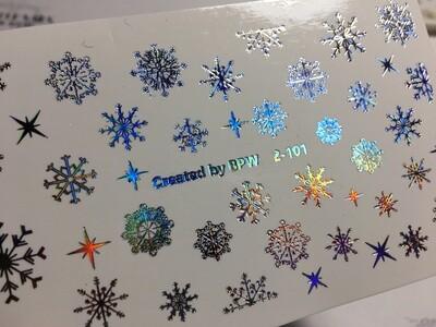 Sneeuwvlokjes 2-101