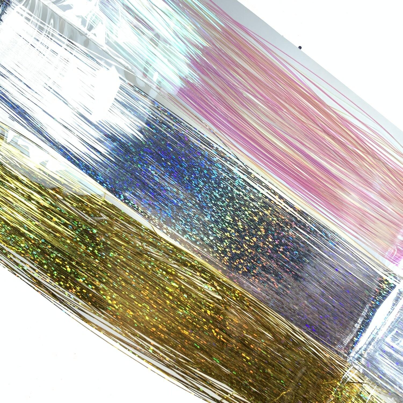 Holografische nailart stripes, 3 kleuren