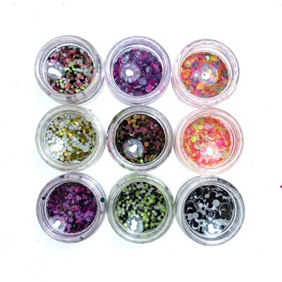 Kamifubuki mix of wel rolly-polly set 2, 9 pcs
