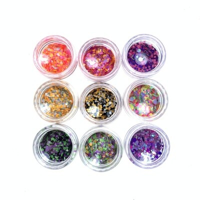 Kamifubuki mix of wel rolly-polly set 1, 9 pcs