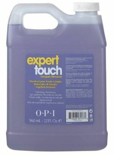 Gel polish en Nagellakremover, Expert touch, 960 ml.