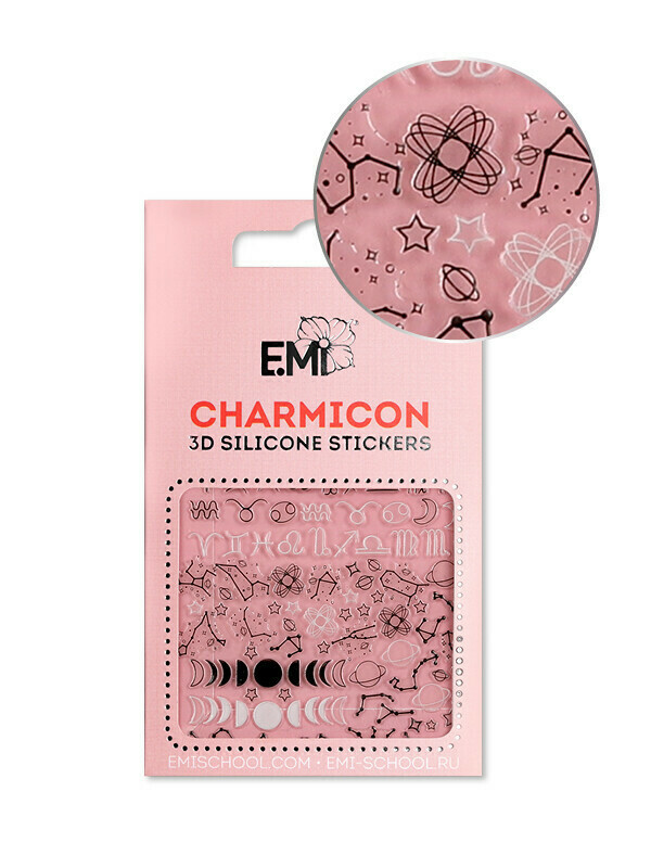 Charmicon 3D Silicone Stickers #126 Constellations