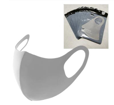 Mondmasker wasbaar herbruikbaar - 5 st, grijs