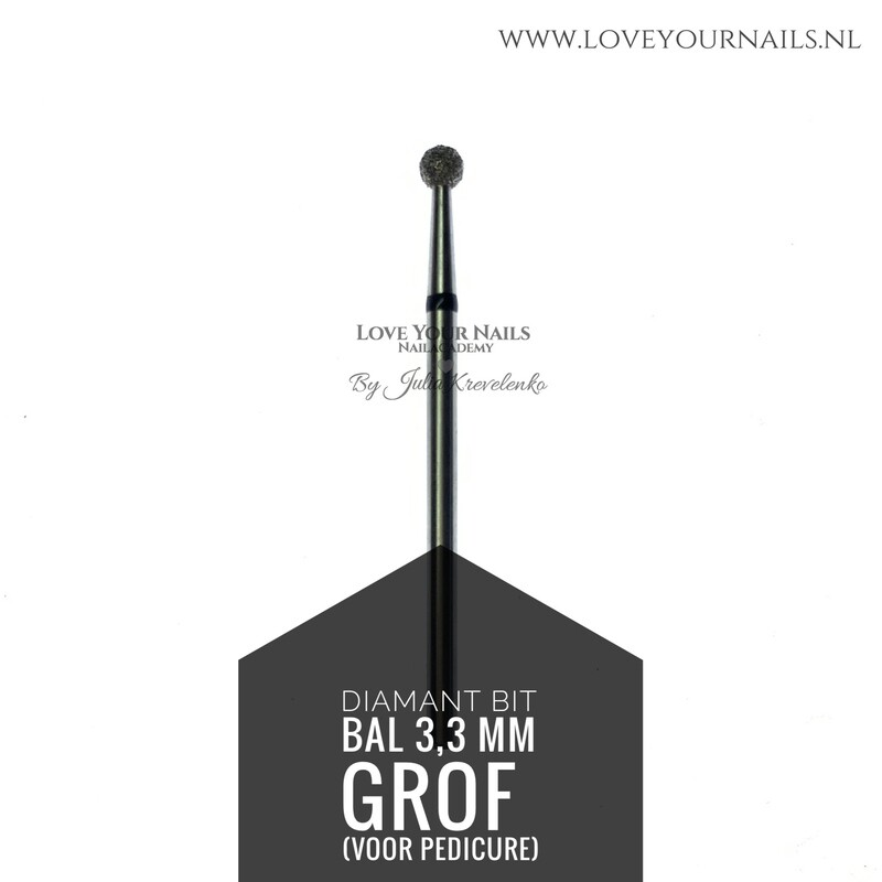 Diamant frees bit Bal - extra grof- 3,3mm