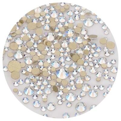 Crystal Stones Moonlight, 250st., ss3-ss20 in een zakje