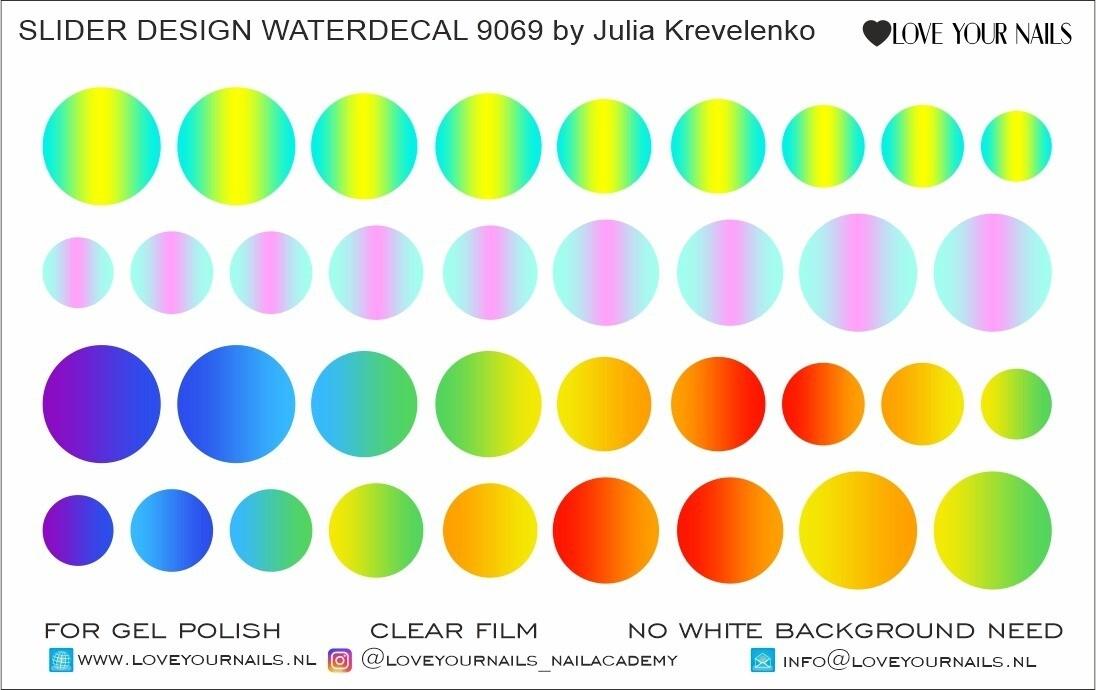 Colorboom circles 9069 Ombre Gradient