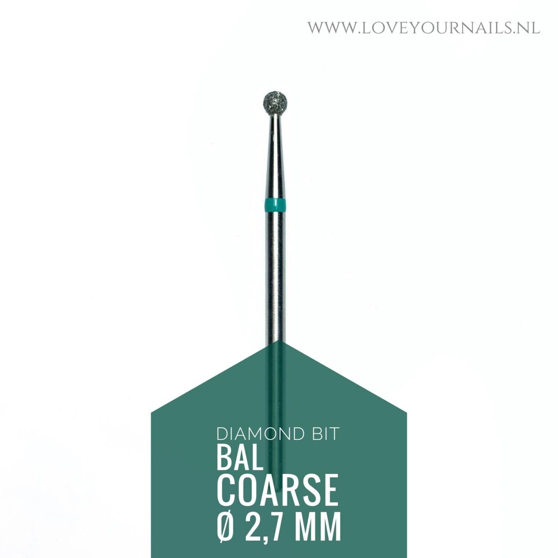 Diamant frees bit Bal - grof- 2.7 mm