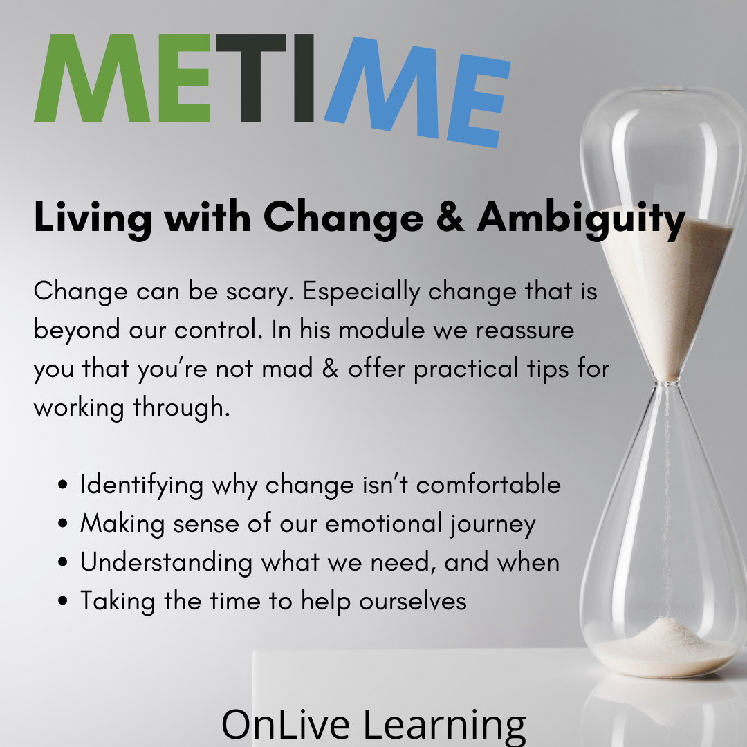 Living with change and ambiguity