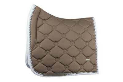 Dressage Saddle Pad, Walnut, Monogram