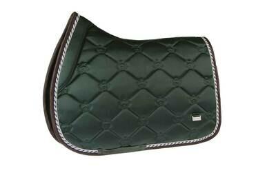 Jump Saddle Pad, Emerald, Monogram