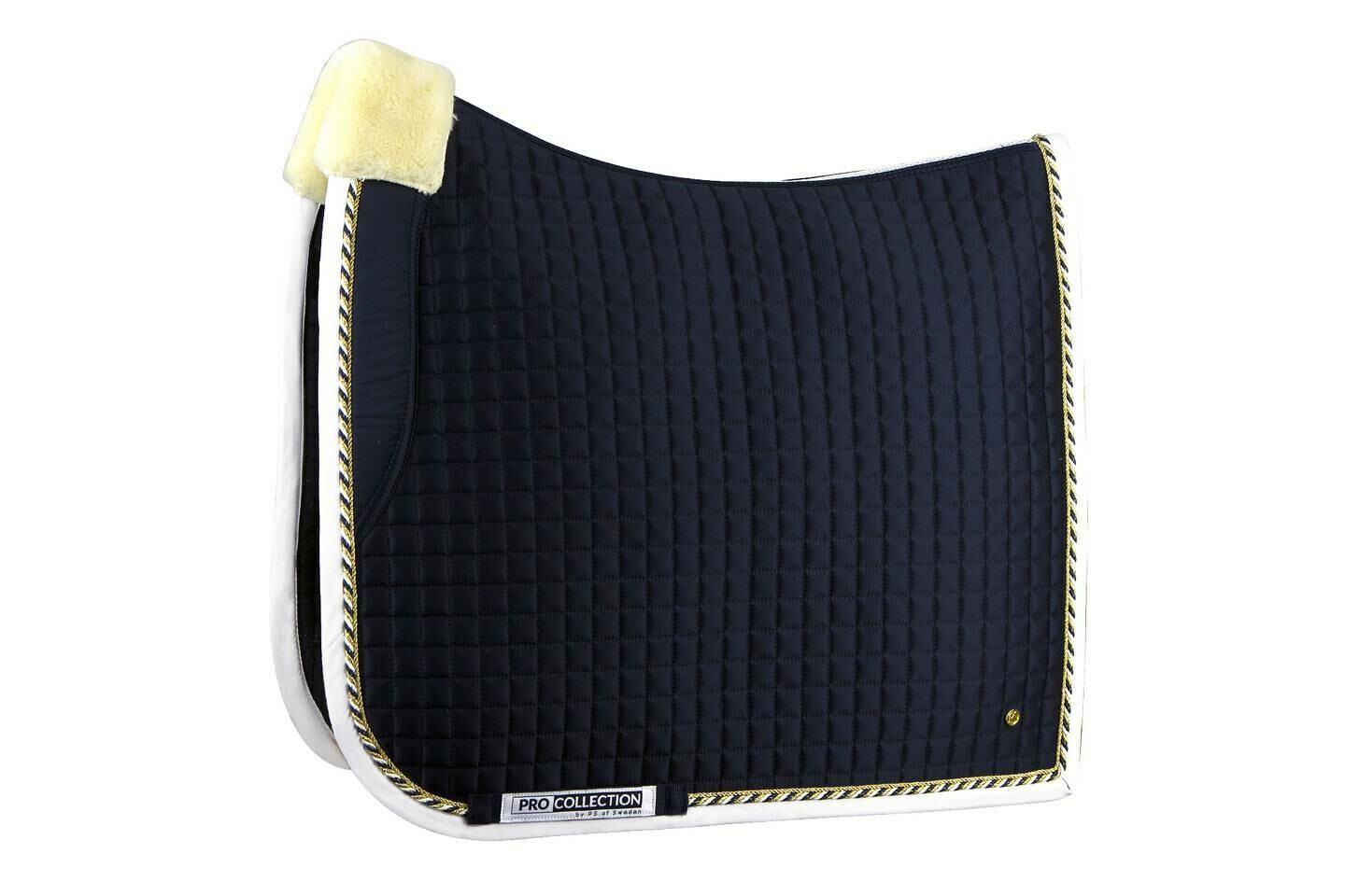 Dressage Saddle Pad, Navy, Pro