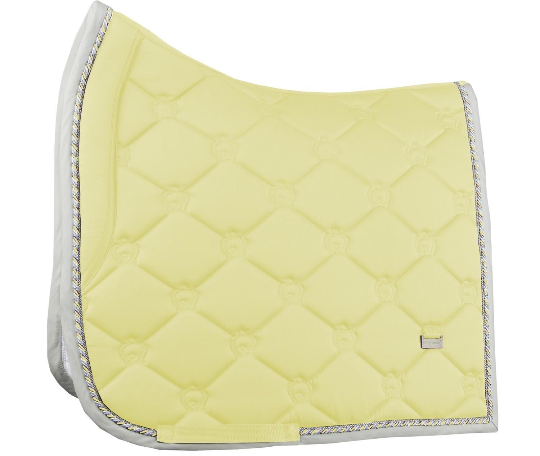 Dressage Saddle Pad, Vanilla, Monogram