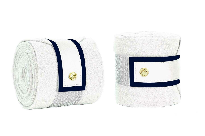 Bandages, wit met blauw