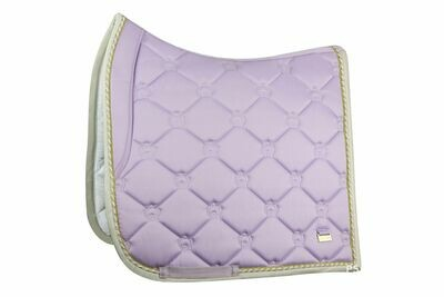 Dressage Saddle Pad, Soft Lilac, Monogram