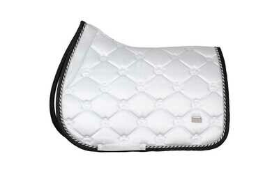 Jump Saddle Pad, Winning Round, Monogram