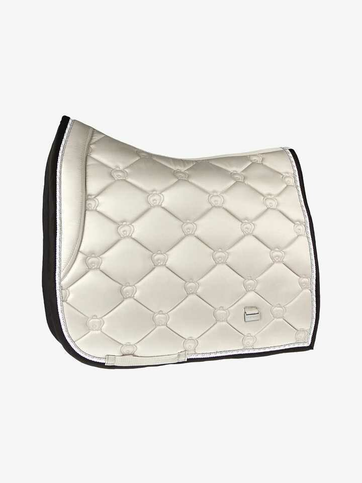 Dressage Saddle Pad, Prosecco, Monogram