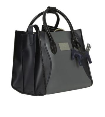 Grooming Bag, Deep Sapphire/Grijs