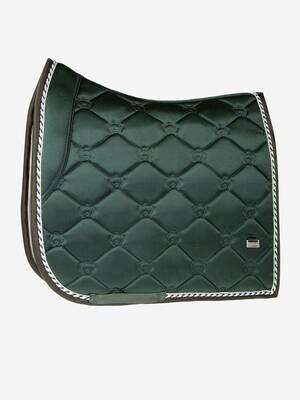 Dressage Saddle Pad, Emerald, Monogram