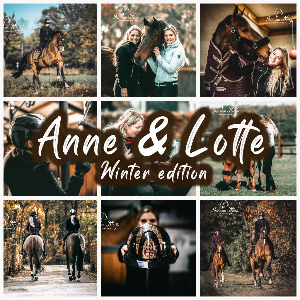 ANNE & LOTTE, Winter edition // 5 Lightroom Desktop presets