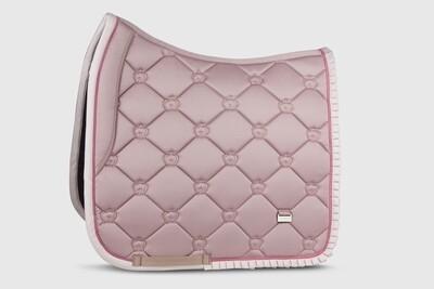 Dressage Saddle Pad, Pink, Ruffle