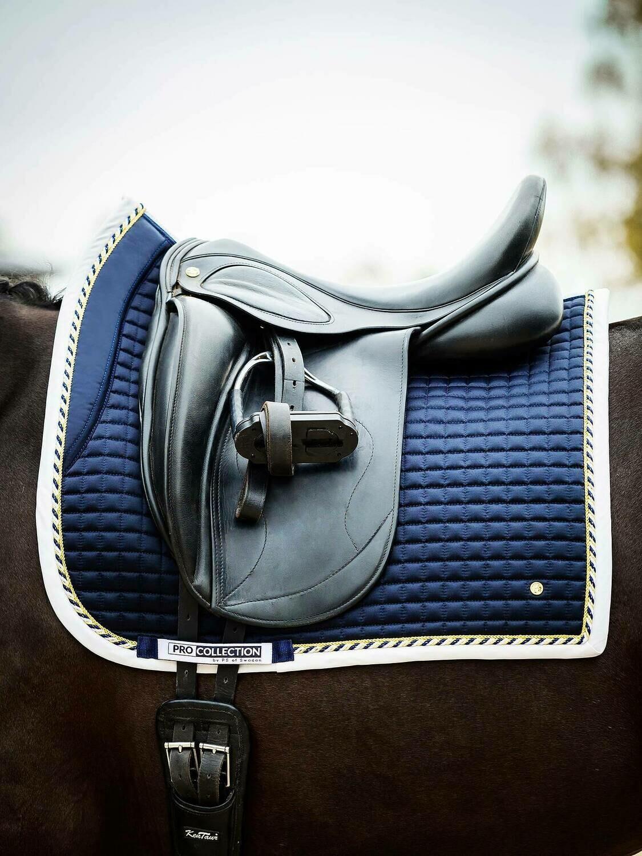 Dressage Saddle Pad, Navy, Pro