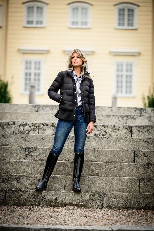 Paisley Jacket, Black