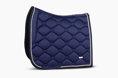 Dressage Saddle Pad, Monogram, Royal Blue