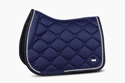 Jump Saddle Pad, Royal Blue, Monogram