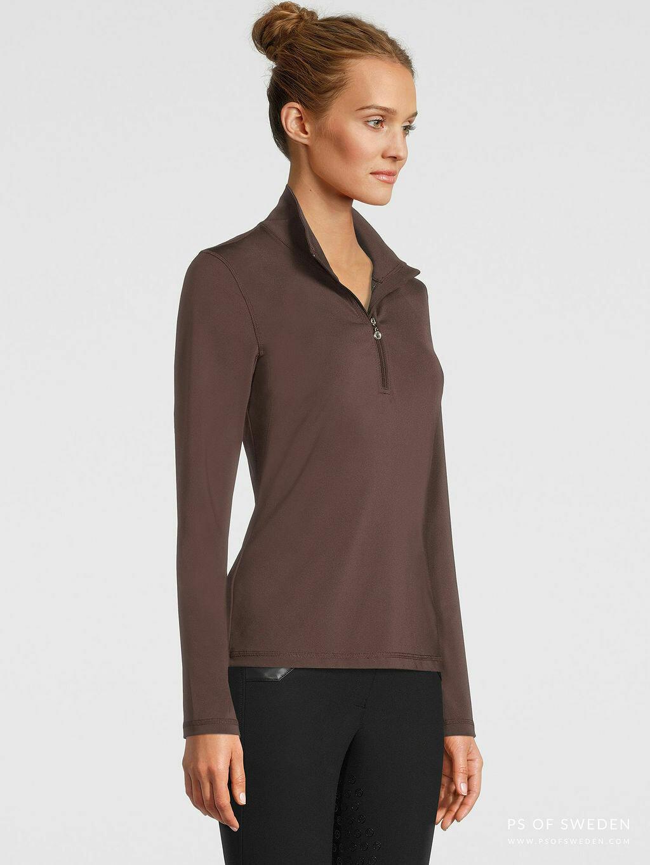 Basis shirt, Willow, Coffee/chocolate