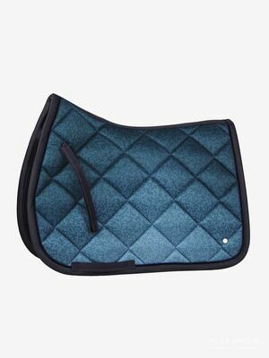 Jump Saddle Pad, Navy, Ombre