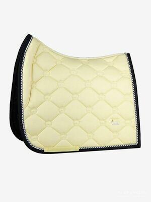 Dressage Saddle Pad, Lemon, Monogram