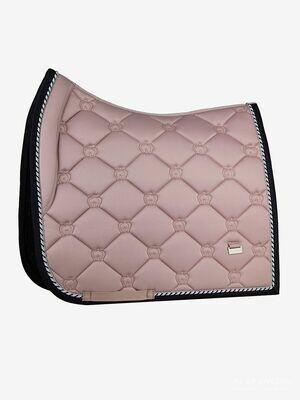 Dressage Saddle Pad, Pink, Monogram