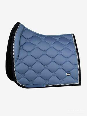 Dressage Saddle Pad, Light Blue, Monogram
