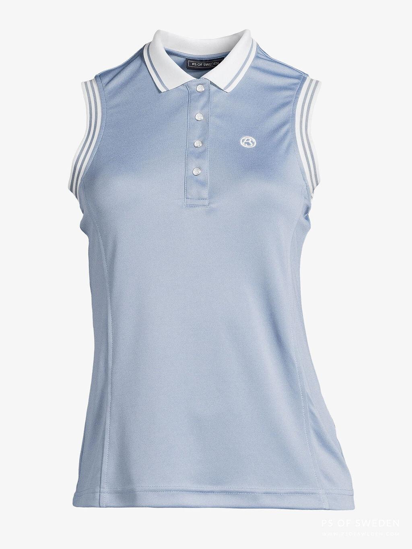 Minna polo shirt, Light Blue
