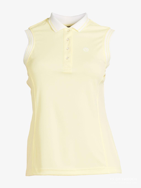 Minna polo shirt, Lemon