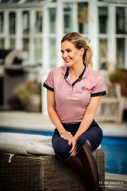 Daniella polo shirt, Pink