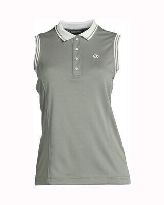 Minna polo shirt, Thyme