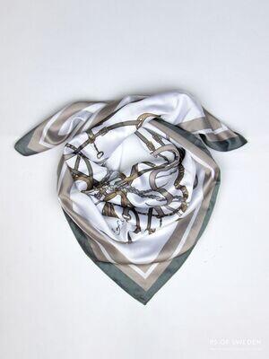 Adine sjaal, Thyme/Sand