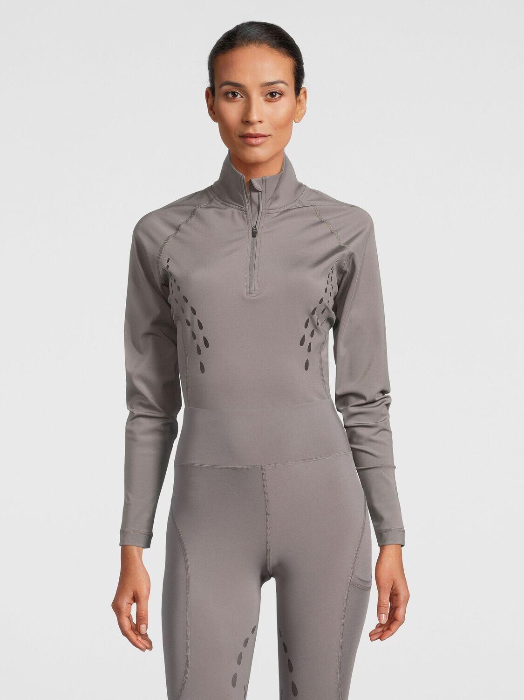 Basis shirt, Tiffany, Grey ( Laatste Maat M )